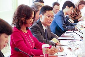 Đại sứ Hà Kim Ngọc gặp gỡ các tổ chức, doanh nghiệp Hoa Kỳ