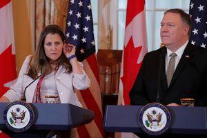 Mỹ can thiệp vụ Trung Quốc bắt công dân Canada