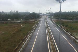 Thông xe nút giao Chu Lai kết nối tuyến cao tốc Đà Nẵng- Quảng Ngãi