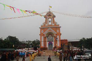 Khánh thành nhà thờ giáo họ Ngọc Thôn