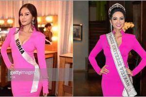 Thân thiết như Hoa hậu Hàn Quốc và H'Hen Niê ở Miss Universe: cùng phòng, dép tổ ong đôi và mặc chung váy?