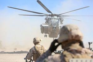 Xem 'siêu mã' CH-53E Super Stallion triển khai sức mạnh