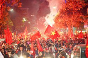Những niềm hạnh phúc tột cùng trong đêm Việt Nam vô địch