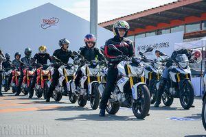 Hàng trăm biker Việt trải nghiệm dàn xe BMW Motorrad tại trường đua