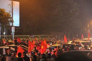 Người dân đổ ra đường ăn mừng Việt Nam vô địch AFF Cup 2018