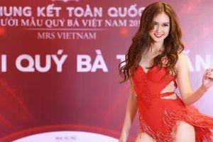 MC, diễn viên Hương Giang khoe vũ đạo bốc lửa trong phần thi tài năng Mrs Vietnam