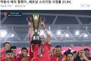 Trận đấu Việt Nam - Malaysia đạt rating kỷ lục trên đài SBS