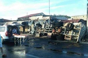 Tích cực điều tra vụ cháy xe bồn gây thiệt hại nghiêm trọng
