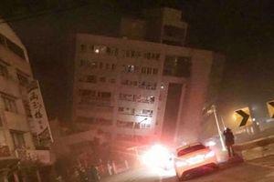Động đất mạnh 5,2 độ richter tại Đài Loan, Trung Quốc