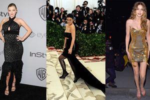 Miranda Kerr, Gigi Hadid lọt Top sao diện 20 bộ váy gợi cảm nhất 2018