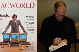 Tạp chí Macworld số đầu tiên với chữ ký của Steve Jobs có giá hơn 1,1 tỷ đồng
