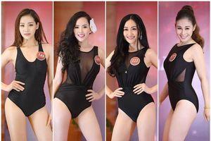 Quý bà Việt Nam tự tin khoe hình thể trong phần thi bikini