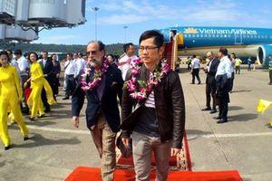 Sân bay Phú Quốc (Kiên Giang) đón hành khách thứ 100 triệu năm 2018