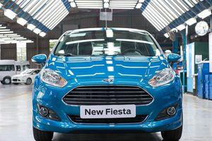 Ford dừng sản xuất Ford Fiesta tại Việt Nam