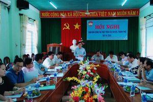 Ninh Thuận: Giao ban công tác Mặt trận quý IV năm 2018