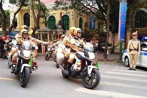 Trưởng CSGT Hà Nội: Không để tiêu cực ảnh hưởng tới lực lượng