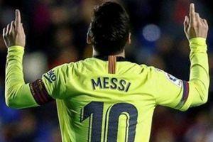 Lập hat-trick vào lưới Levante, Messi đạt những cột mốc nào?