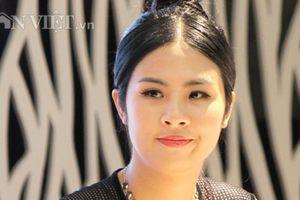 Hoa hậu Ngọc Hân rạng ngời giới thiệu trang phục cho lễ hội thổ cẩm