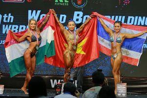Thể hình Việt Nam giành 3 HCV thế giới