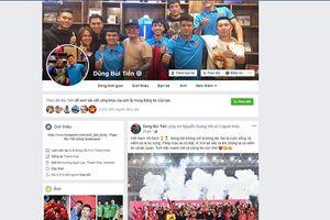 Giả mạo Facebook cầu thủ đội tuyển Việt Nam và HLV Park Hang-seo, có thể đối diện với mức phạt nào?