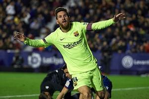 Cuộc đua Chiếc giày vàng châu Âu: Messi tái lập thế thống trị