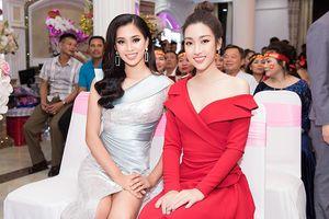 Hoa hậu Tiểu Vy, Đỗ Mỹ Linh rạng rỡ hội ngộ dàn chị em 'bông hậu'