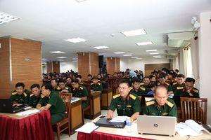 Tập huấn phần mềm kế toán mới trong quân đội