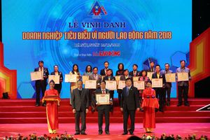 NT2 nhận danh hiệu 'Doanh nghiệp tiêu biểu vì người lao động' 5 năm liên tiếp