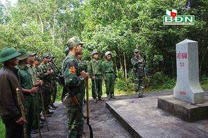 Giữ vững ổn định và phát triển trên đường biên Đắk Nông – Mondulkiri