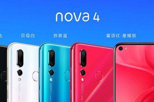 Huawei ra mắt smartphone màn hình đục lỗ mang tên Nova 4, camera 48MP, giá 490 USD