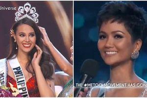H'Hen Niê làm nên lịch sử khi lọt top 5, đại diện Philippines đăng quang Hoa hậu Hoàn vũ 2018