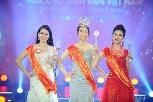 Nữ sinh Đại học Luật (Huế) đăng quang Hoa khôi sinh viên Việt Nam 2018