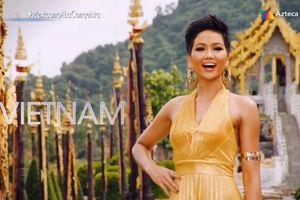 Kỳ tích: Hoa hậu H'Hen Niê của Việt Nam top 5 Miss Universe