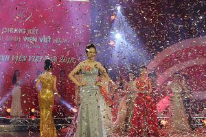 Lộ diện Tân Hoa khôi Sinh viên 2018, 'lác mắt' ngắm 45 thí sinh đẹp nhất nước trình diễn trang phục dạ hội