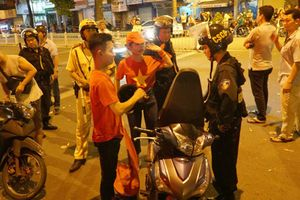 14 người chết vì tai nạn giao thông trong đêm mừng VN vô địch AFF Cup
