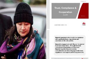 Mỹ tung bằng chứng buộc tội giám đốc tài chính Huawei