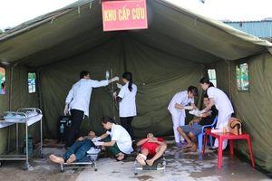 Hà Nội: Ngành Y tế triển khai ứng phó sự cố thiên tai và tìm kiếm cứu nạn