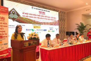 Sắp diễn ra Lễ hội văn hóa thổ cẩm lần đầu tiên tại Việt Nam