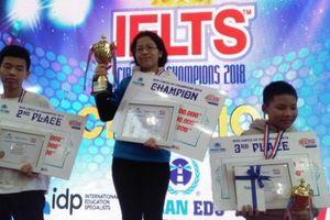 Lộ diện quán quân cuộc thi 'IELTS CRICLE OF CHAMPIONS 2018'