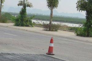 Quảng Ninh: Đường 400 tỉ vừa xong đã vá chằng chịt, khoét hàm ếch taly