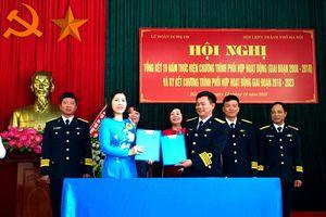 Tăng cường phối hợp giữa Hội Liên hiệp Phụ nữ TP Hà Nội và Lữ đoàn đặc công Hải quân 126