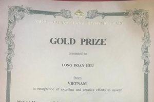 Sản phẩm quản lý y tế của Việt Nam giành giải vàng tại triển lãm quốc tế