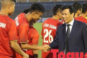 Bộ trưởng Nguyễn Ngọc Thiện dự khán trận chung kết U21 quốc tế