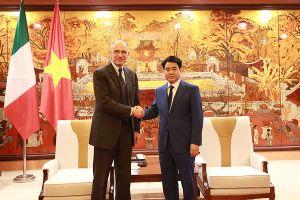 Đối thoại cấp cao về quan hệ kinh tế ASEAN - Italia: Cơ hội thu hút đầu tư của Hà Nội
