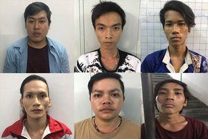 Bắt băng nhóm gây hàng loạt vụ trộm ở Sài Gòn