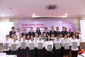 AEON trao học bổng 400 triệu đồng cho các sinh viên Việt Nam
