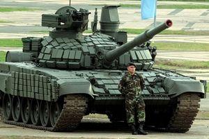 Quân đội Lào tiếp nhận xe tăng T-72B Đại bàng trắng