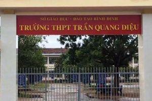 Vụ học sinh đánh thầy nhập viện: Sở GĐ&ĐT Bình Định lên tiếng