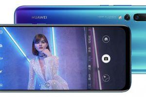 Huawei trình làng smartphone dùng camera selfie 25 MP ẩn trong màn hình
