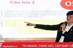 Hà Tĩnh thành lập 430 CLB bình đẳng giới, phòng chống bạo lực